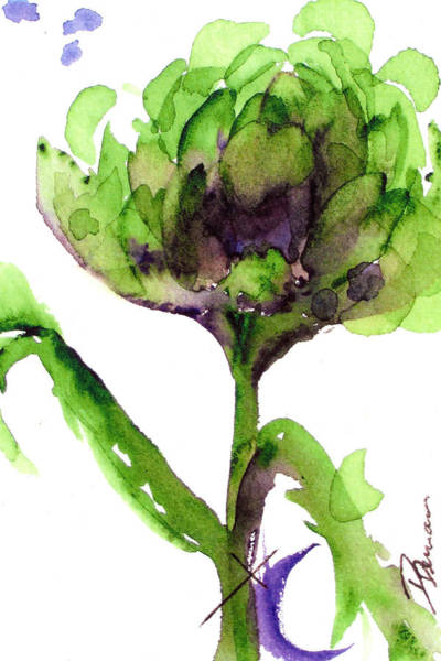 Painting - Artichoke by Dawn Derman