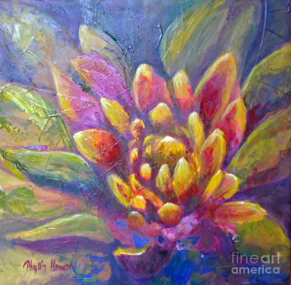 Painting - Artichoke Leaves by Phyllis Howard