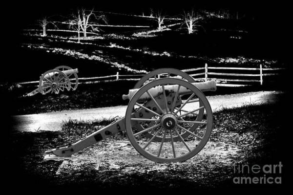 Artillery Digital Art - Artillery At Gettysburg by Paul W Faust -  Impressions of Light