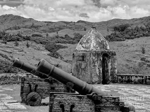 Mount Soledad Wall Art - Photograph - Artillery Fortification Guam by Scott Cameron