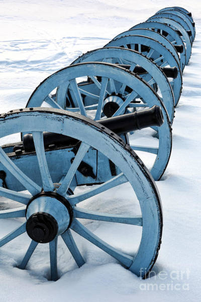 Historic Site Photograph - Artillery by Olivier Le Queinec