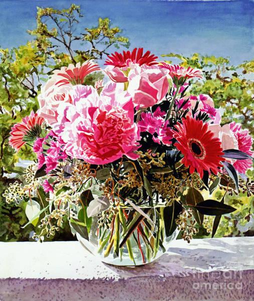 Painting - Artist Studio Still Life by David Lloyd Glover