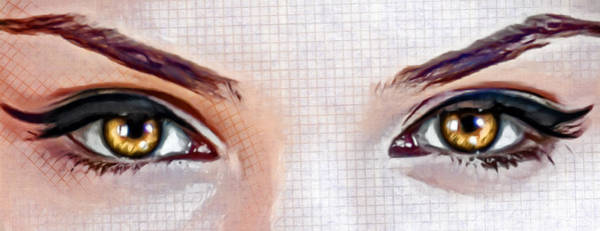 Photograph - Artistic Eyes by Sotiris Filippou