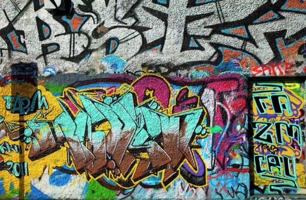 U2 Photograph - Artistic Graffiti On The U2 Wall by Panoramic Images