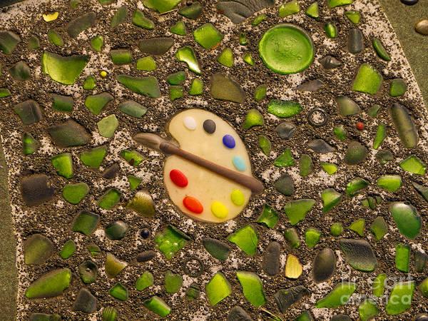 Photograph - Artistic Pavement by Brenda Kean