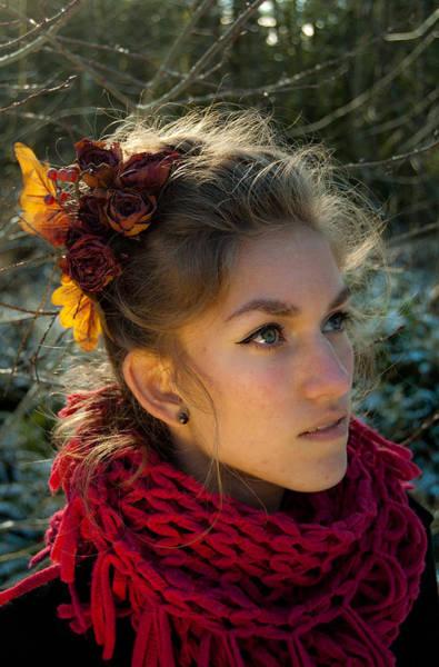 Photograph - Artistic Senior Portrait 2 by Jani Freimann