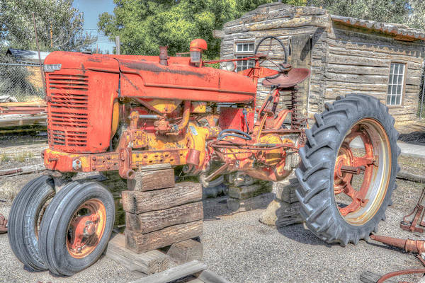 Photograph - Artistic Tractor by Susan Leonard
