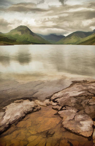 Photograph - Artistic View Of Wastwater In Lake District by Pete Hemington