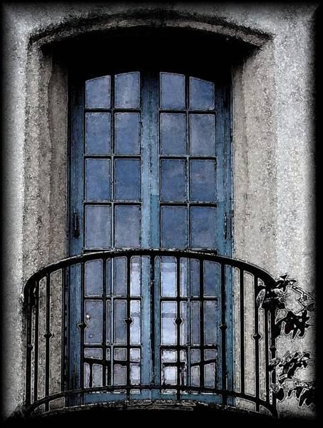 Artistic Window Art Print