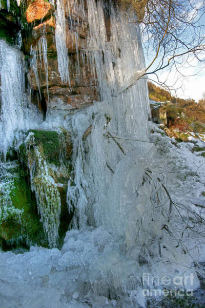 Photograph - Artistry In Ice 2 by David Birchall