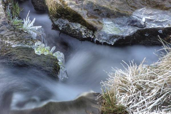 Photograph - Artistry In Ice 20 by David Birchall