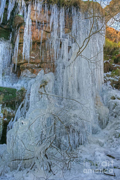 Photograph - Artistry In Ice 3 by David Birchall