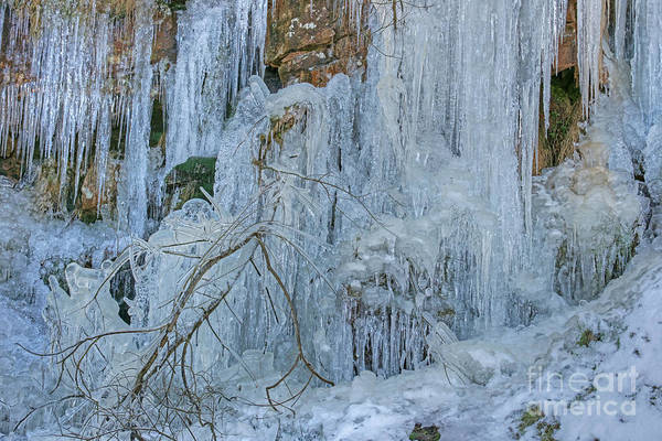 Photograph - Artistry In Ice 5 by David Birchall