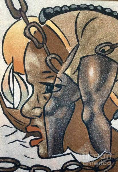 Violation Mixed Media - Artists Of Oasis  by Fania Simon