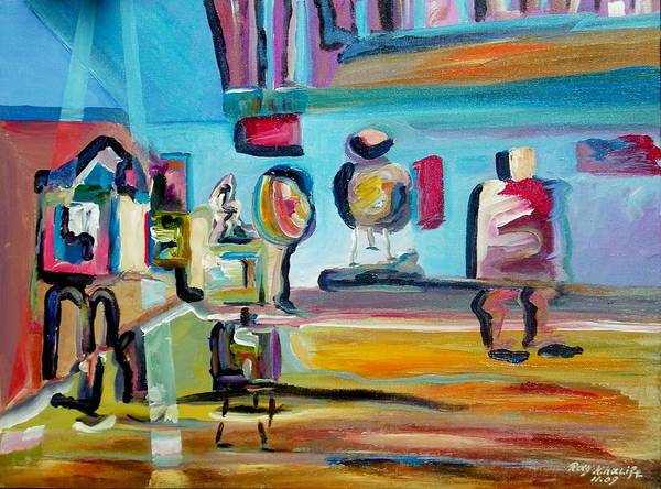 Painting - Artist's Studio by Ray Khalife