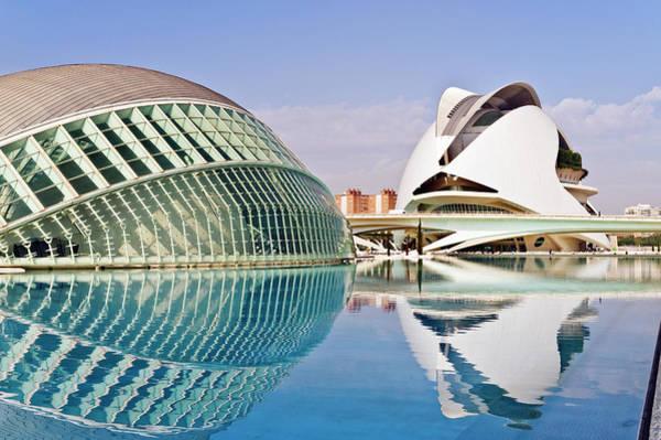 John I Photograph - Arts And Science Park, Valencia, Spain by John Harper