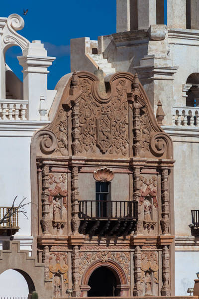 Photograph - Artwork At San Xavier Del Bac by Ed Gleichman