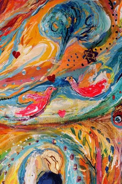 Wall Art - Painting - Artwork Fragment 24 by Elena Kotliarker
