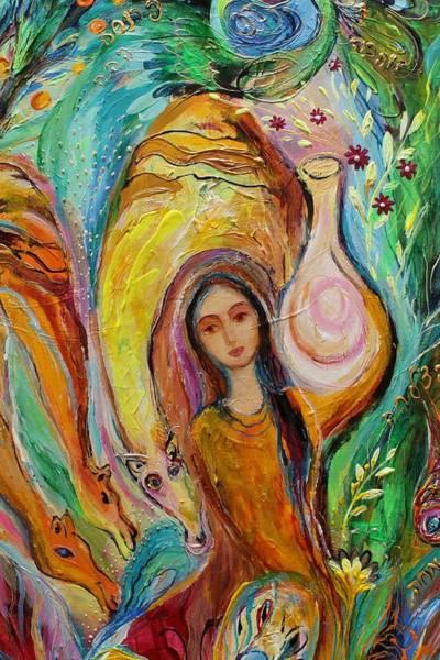 Wall Art - Painting - Artwork Fragment 44 by Elena Kotliarker