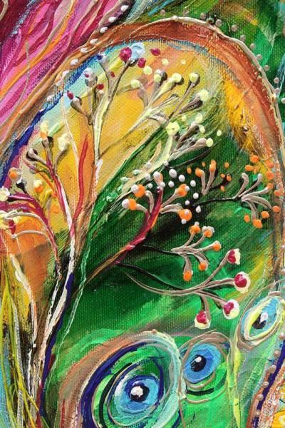 Wall Art - Painting - Artwork Fragment 48 by Elena Kotliarker