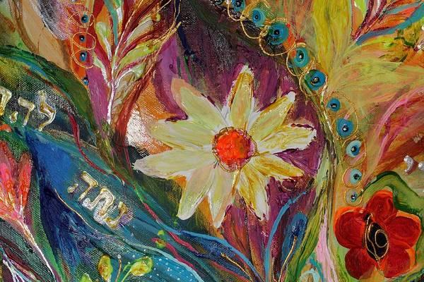Wall Art - Painting - Artwork Fragment 66 by Elena Kotliarker