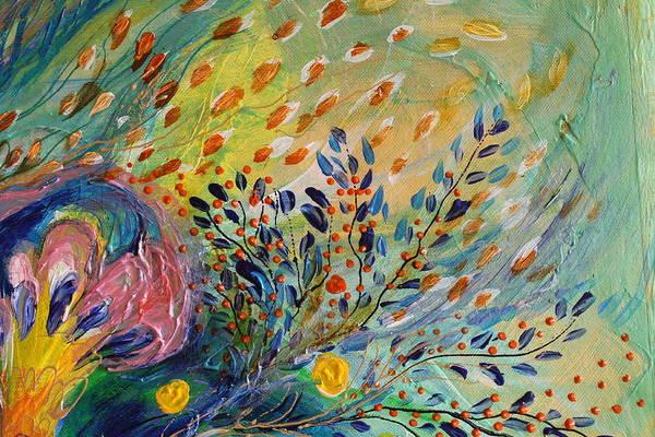 Encyclopedia Judaica Wall Art - Painting - Artwork Fragment 71 by Elena Kotliarker