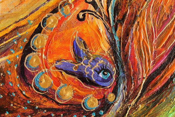 Wall Art - Painting - Artwork Fragment 88 by Elena Kotliarker