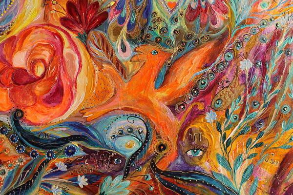 Wall Art - Painting - Artwork Fragment 99 by Elena Kotliarker