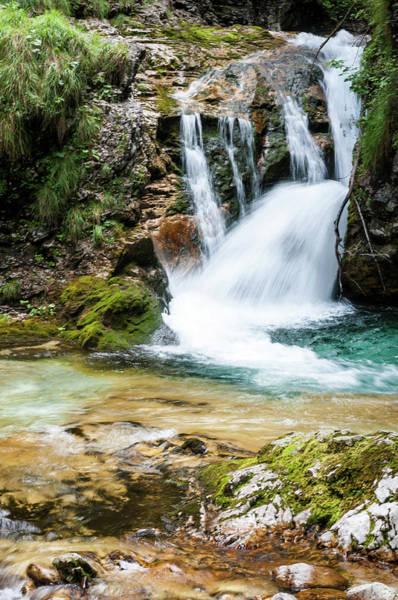 Friuli Photograph - Arzino River Waterfalls In Friuli by Bosca78