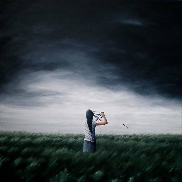 Painting - As I Let Go Of The Old by Ric Nagualero