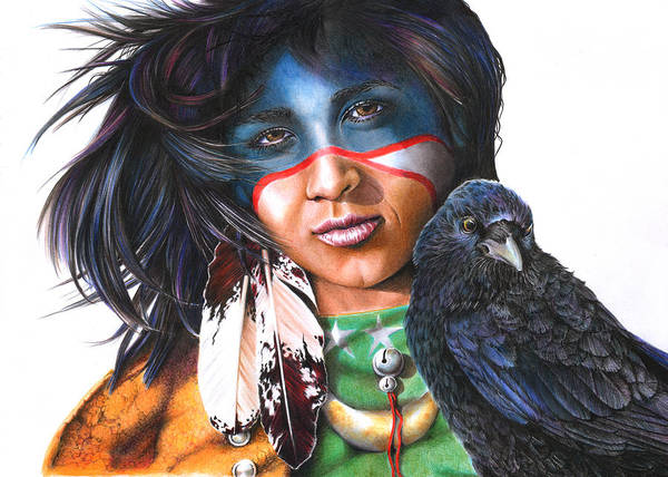As The Crow Flies Art Print