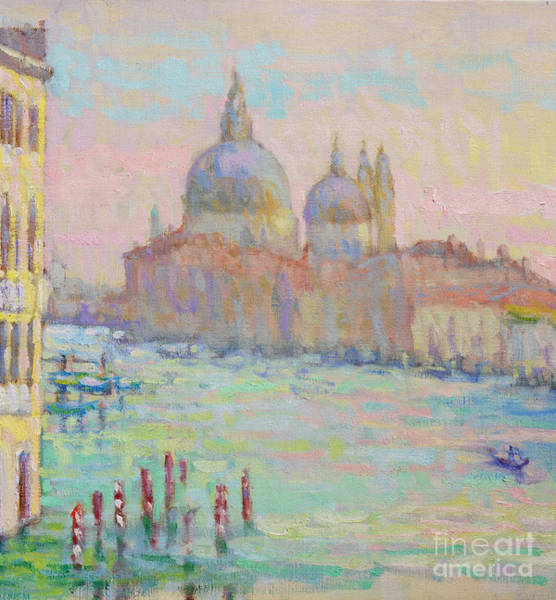 Wall Art - Painting - As The Sun Breaks Through by Jerry Fresia