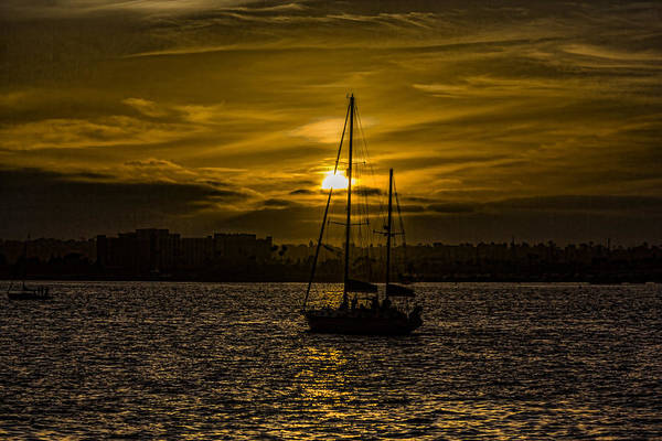 Digital Art - As The Sun Sets by Photographic Art by Russel Ray Photos