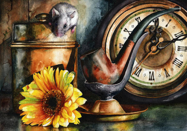 As Time Goes By Art Print