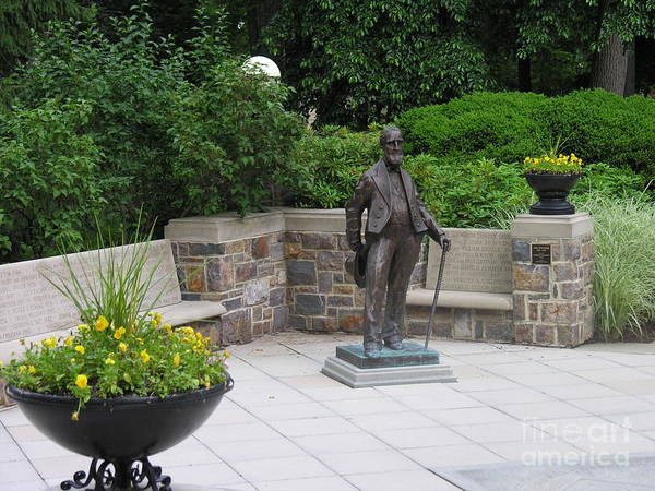 Lehigh University Wall Art - Photograph - Asa Packer - Founder Of Lehigh University by Jacqueline M Lewis