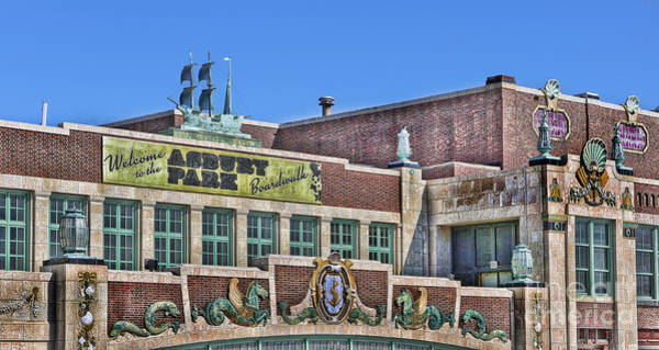 Wall Art - Photograph - Asbury Park Convention Hall And Paramount Theatre  by Lee Dos Santos