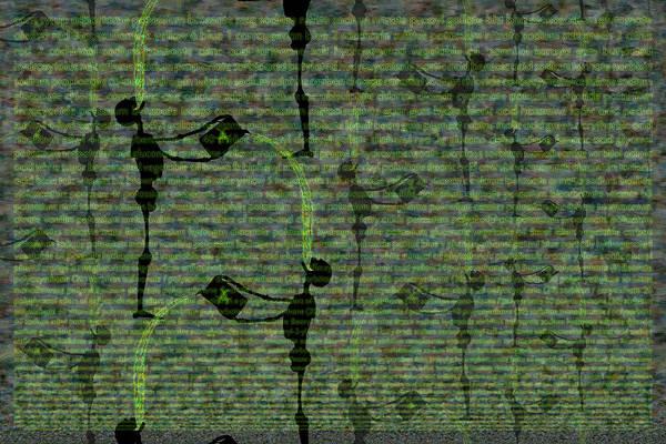 Digital Art - Ascension Of Man Part 5 by Matt Lindley