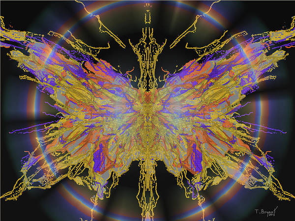 Delight Digital Art - Ascension by Kume Bryant