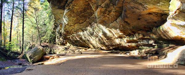 Hocking Hills Photograph - Ash Cave In Hocking Hills by Jack Schultz
