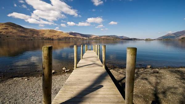Photograph - Ashness Jetty by Stephen Taylor