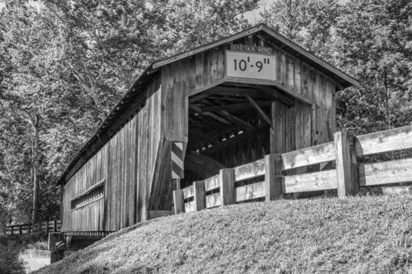 Photograph - Ashtabula Collection - Benetka Road Bridge 7k01989b by Guy Whiteley