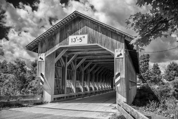 Photograph - Ashtabula Collection - Caine Road Bridge 7k0213b by Guy Whiteley
