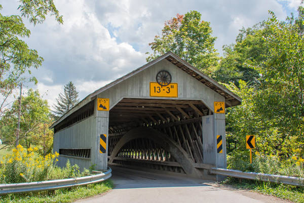 Photograph - Ashtabula Collection - Doyle Road Covered Bridge 7k02057 by Guy Whiteley