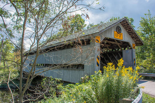 Photograph - Ashtabula Collection - Doyle Road Covered Bridge  7k02059 by Guy Whiteley