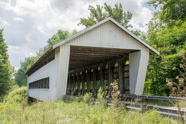 Photograph - Ashtabula Collection - Giddings Road Covered Bridge 7k02045 by Guy Whiteley