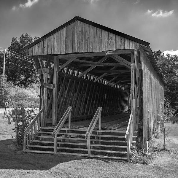 Photograph - Ashtabula Collection - Graham Road Covered Bridge  7k02006 by Guy Whiteley