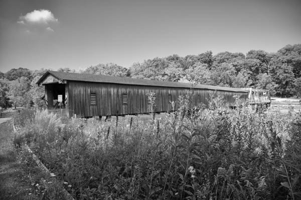 Photograph - Ashtabula Collection - Harpersfield Bridge  7k02071b by Guy Whiteley