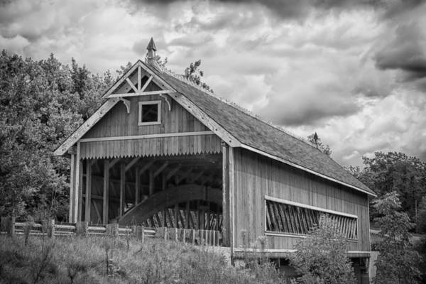 Photograph - Ashtabula Collection - Netcher Road Covered Bridge 7k02030b by Guy Whiteley
