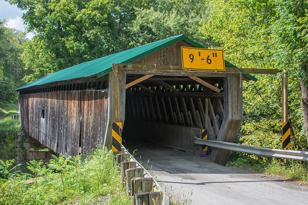Photograph - Ashtabula Collection - Riverdale Road Covered Bridge  7k02084 by Guy Whiteley