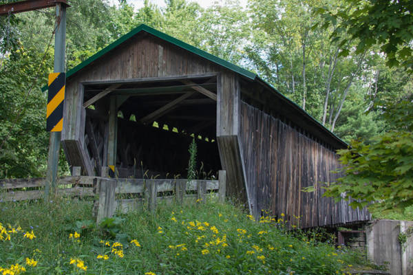 Photograph - Ashtabula Collection - Riverdale Road Covered Bridge 7k02981 by Guy Whiteley